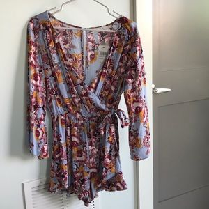 Floral Romper- New With Tags
